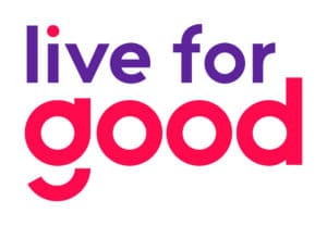 Logo de Live for good