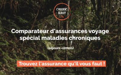 Comparateur assurance voyage maladie chronique