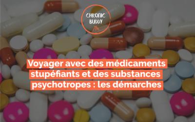 Voyager avec des stupéfiants et des substances psychotropes